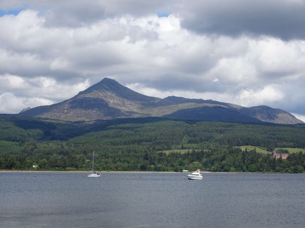 Goat Fell and Brodick Bay, Isle of Arran